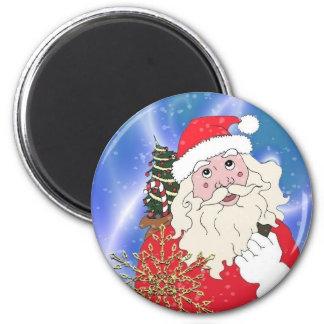 Santa Claus Fridge Magnets