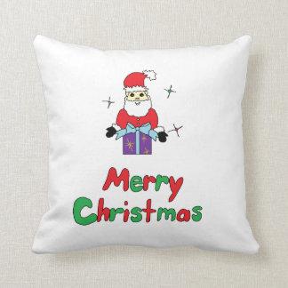 Santa Claus Merry Christmas Pillow