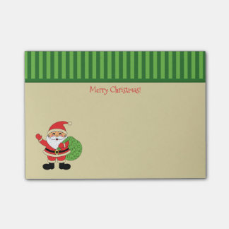 Santa Claus Merry Christmas Post-it Notes