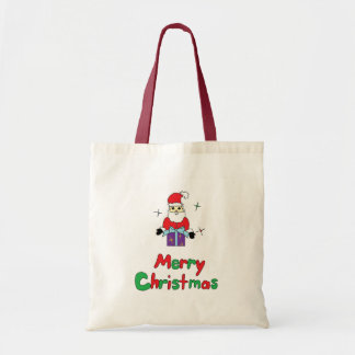 Santa Claus Merry Christmas Tote Bag