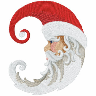 Santa Claus Moon Embroidered Jacket