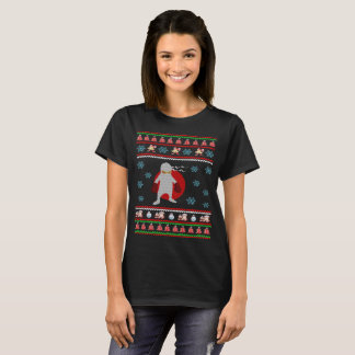 Santa Claus Ninja Christmas Ugly Sweater T-Shirt