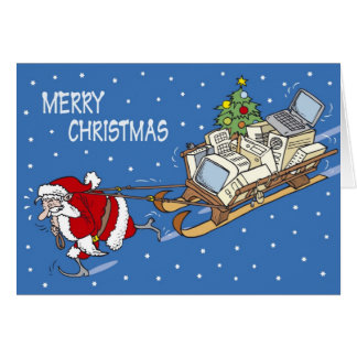 Santa Claus no. 04 Card