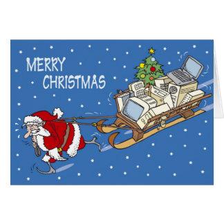 Santa Claus no. 04 Greeting Card