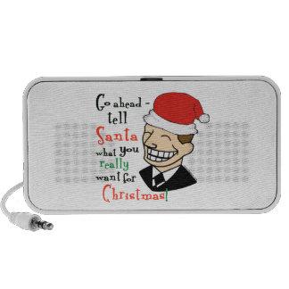 Santa Claus Notebook Speakers