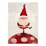 Santa Claus on fungus Custom Invite