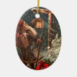 Santa Claus On His Way 2 Ornament