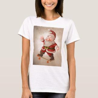 Santa Claus on skateboard T-Shirt