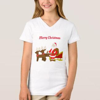 santa claus on the christmas sleigh T-Shirt