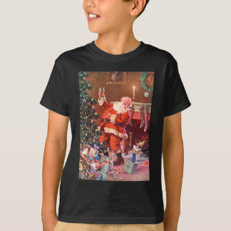 Santa Claus On the Night Before Christmas T-Shirt
