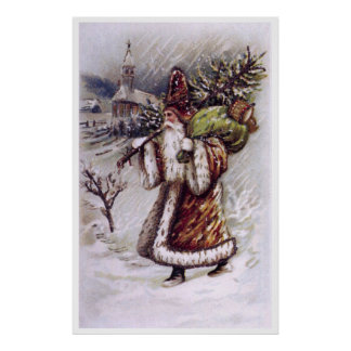 Santa Claus on the Way Poster