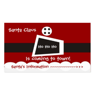 Santa Claus Pack Of Standard Business Cards