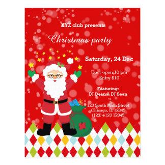 Santa Claus party * choose background color Flyer