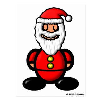 Santa Claus (plain) Postcard