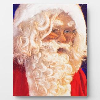 Santa Claus Plaque