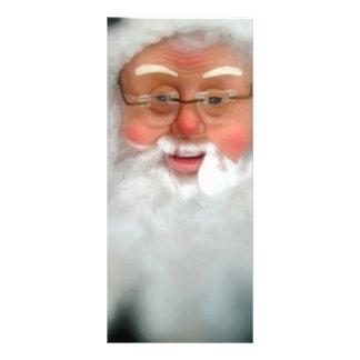 Santa Claus Customized Rack Card