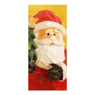 Santa Claus Personalized Rack Card