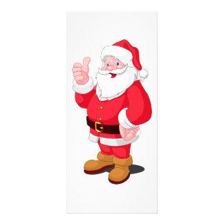 Santa Claus Rack Card Design