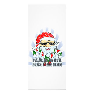 Santa Claus Personalized Rack Card