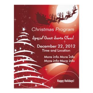 Christmas Program Flyers Amp Leaflets