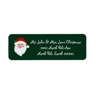 Santa Letter Labels Amp Address Return Address Labels