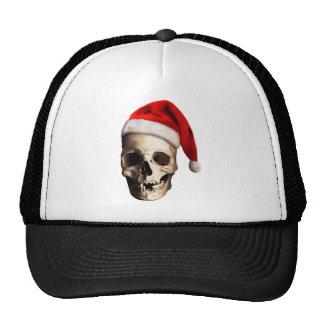 Santa Claus Skull Hat Skeleton
