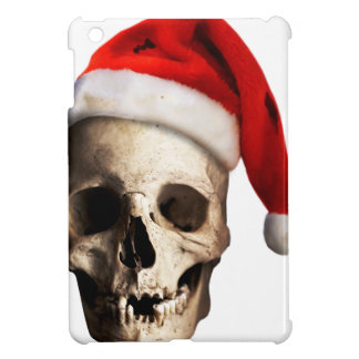 Santa Claus Skull Hat Skeleton iPad Mini Cases