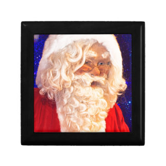 Santa Claus Small Square Gift Box