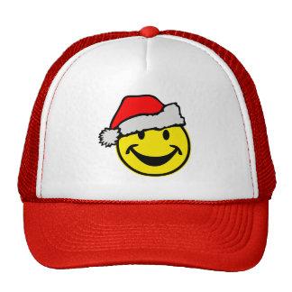 Santa Claus Smiley + your backgr. & ideas Cap