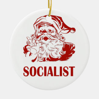 Santa Claus - Socialist Christmas Ornament