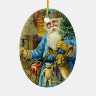 Santa Claus St. Nickolas Old World Baby's First Christmas Ornament