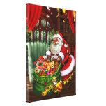 Santa Claus! Stretched Canvas Print