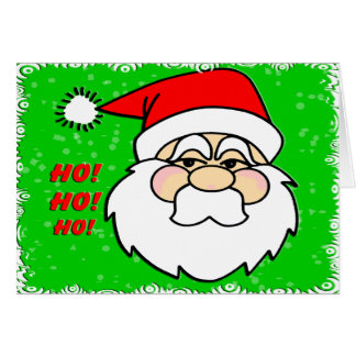 Santa Claus T-Shirts & Gifts Greeting Card