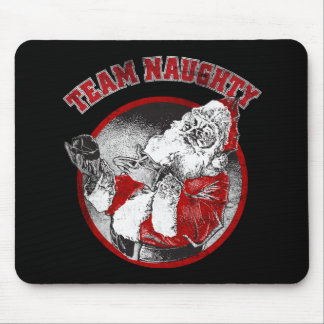 Santa Claus - Team Naughty Mouse Pad