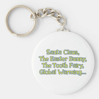 Santa Claus, The Easter Bunny, The Tooth Fairy, Gl Keychains
