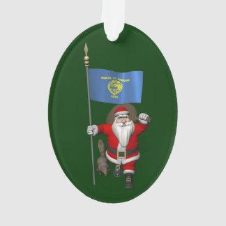 Santa Claus Visiting The Beaver State