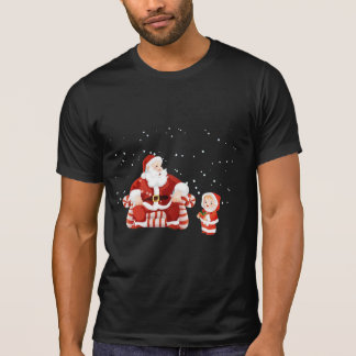 Santa Claus with a child on his lap Shirt
