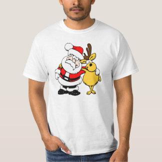 Santa Claus with a deer T-Shirt