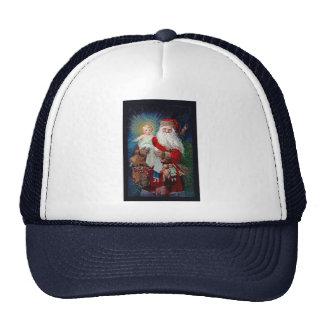 Santa Claus with Christ Child Mesh Hat