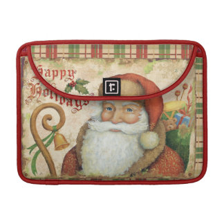 Santa Claus with Gifts Sleeve For MacBook Pro
