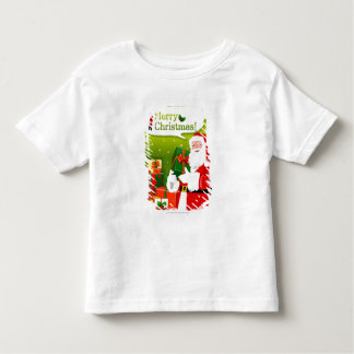 Santa Claus with gifts Toddler T-Shirt