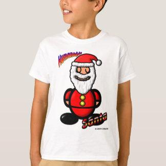 Santa Claus (with logos) T-Shirt