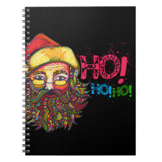 Santa Claus with Text Notebook