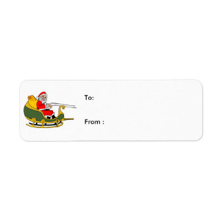 santa clause Christmas Labels