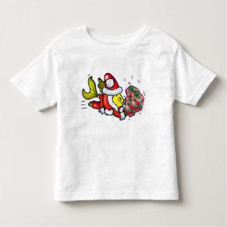 Santa Clause Fish - funny Christmas T-shirt
