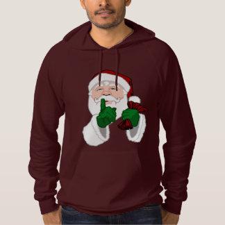 Santa Clause Hoodie Sweatshirt Santa Sweatshirts