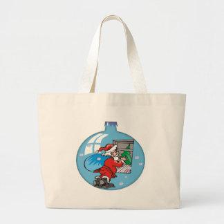 Santa Clause Ornament Bags