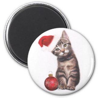 Santa Claws 6 Cm Round Magnet