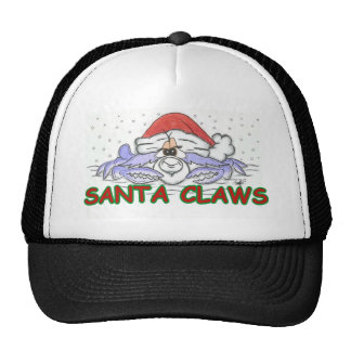 Santa CLAWS Cap
