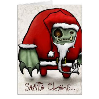 Santa Claws... Card
